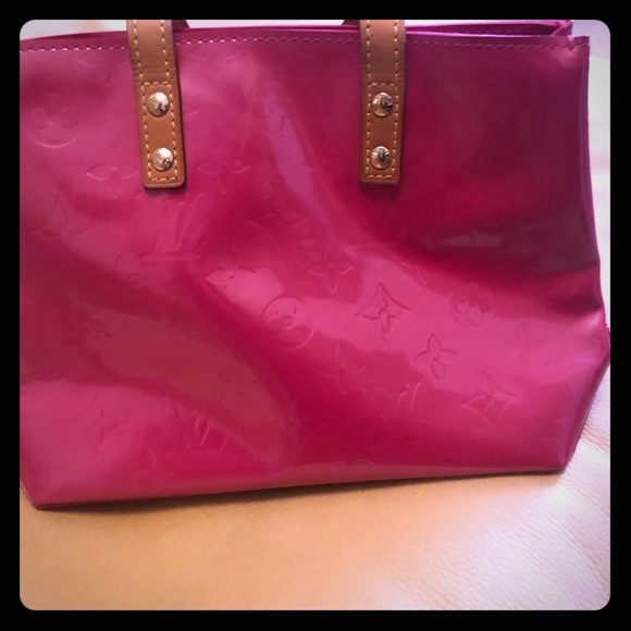 Louis Vuitton Handbags - Louis Vuitton Vernis Reade PM Small Tote (Pink)- A